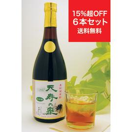 リンゴ酢ベースの健康酢「天寿の泉 松の精」
